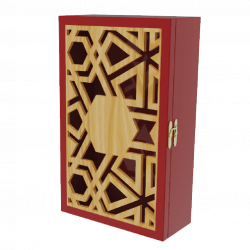 Mẫu hộp quà gỗ 1