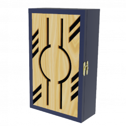 Mẫu hộp gỗ 03